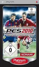 Playstation Sony PSP PRO EVOLUTION SOCCER 2010 PES Neuwertig