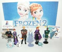 Disney Frozen 2 Movie Party Favors Set of 13 with 10 Fun Figures, Tattoo, Ring