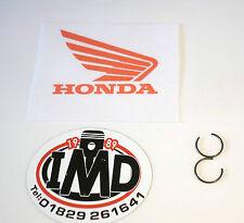 Honda del pasador del pistón circlips (2) Nuevos Cr80 Cr85 1986-2005 Pasador Cw14