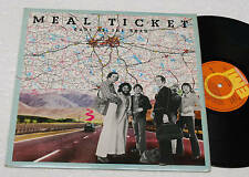 METAL TICKET:LP-ORIGINAL 1° PRESSING LAMINATED COV 1977