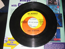 The Beatles; Yesterday & Act Naturally on 45