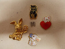 CUTE ANIMAL Lapel pins & Hat Pins or Tie Tacs #3