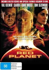 RED PLANET DVD Val Kilmer Carrie-Anne Moss Tom Sizemore SEALED R4>