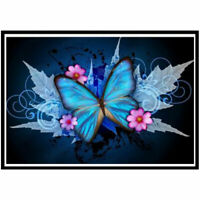 DIY diamond painting cross stitch butterfly embroidery 5D mosaic home decoration