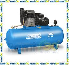 Compressore a cinghia 500 lt ABAC B7000 500 FT10 15 BAR Alta pressione 10 HP