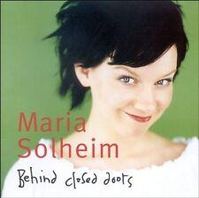 MARIA SOLHEIM - BEHIND CLOSED DOORS  CD NEU
