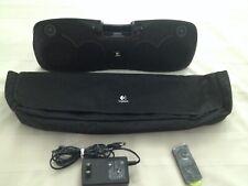 Logitech S715i Portable 30-pin ipod/iphone Speaker Dock w/Bag Remote Power Cord