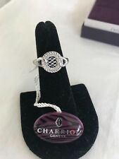 NWT CHARRIOL Bel Silver 925 and Stainless Steel Ring