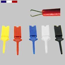 Mini Grip-Fils - lot de 5 couleurs différentes - Rouge, Noir, Blanc, Jaune, Bleu