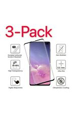 3 Pack For Samsung Galaxy S10 3D Full Cover Tempered Glass Screen Protector