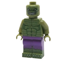 **NEW** Custom Printed - KILLER CROC - Villain DC Universe Block Minifigure