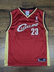 Reebok Cleveland Cavaliers LeBron James Jersey Size Youth Large