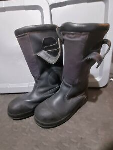 COSMAS Firefighter Boots, Men's Size 9.5US/8.5UK