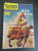 CLASSICS ILLUSTRATED #88 MEN OF IRON 1ST ED HRN 89 COMIC OCT/1951