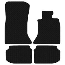 BMW 5 Series 2010 Onwards F10 Black Floor Rubber Tailored Car Mat 3mm 4pc Set