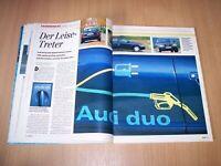 MOT 5249) Rarität! Audi A4 Avant Duo mit Diesel- bzw Elektoantrieb im Fahrberi