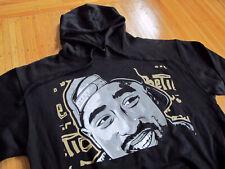 RARE Poetic Justice 2pac Black Hoody Sweatshirt sz L authentic licensed tupac