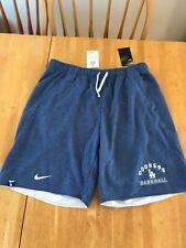 Nike LA Los Angeles Dodgers Baseball Fleece Shorts Standard Fit Men's Sz XXL 2XL