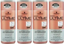 4 x SCHWARZKOPF 250mL ESSENCE ULTIME SHAMPOO ANTI- BREAKAGE 100% Brand New