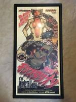 ROCKIN' JELLY BEAN POSTER IN FRAME ART THE MONSTALION VERY RARE COLLECTIBLE F/S