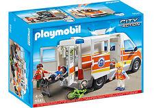 PLAYMOBIL 5541 Rettungswagen mit Licht Sound Neu/ovp