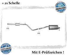 Auspuffanlage Dacia & Renault Sandero 1.4 1.6 Auspuff Schelle Bj.08-12