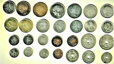 Belgium, Giant 28 coin lot w/1904,'05,'08 & up including WWI & WWII issue coins
