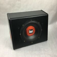 """Car Dual 300 Watts 10"""" Amplified Subwoofer in a Ported Enclosure ALB10"""