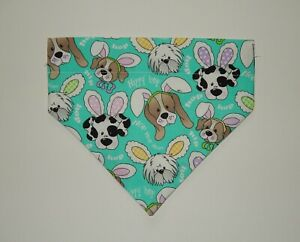 EASTER MISC MEDIUM OVER THE COLLAR DOG SCARF/BANDANA