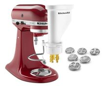 KitchenAid Gourmet Pasta Press Attachment (Bucatini, Rigatoni, Spaghetti, Fusill