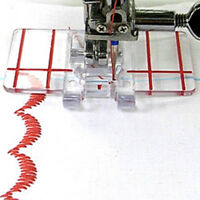 Plastic Clear Parallel Stitch Foot Presser For Domestic Home Sewing Machine