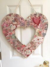 VALENTINE'S DAY Wreath Annie Schickel Vintage Images of Valentines NEW