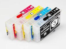 EMPTY Refillable 220 220XL Ink cartridges for Epson WF-2630 WF-2750 WF-2760