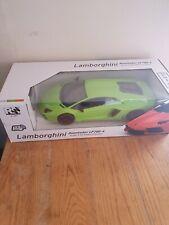 Lamborghini Aventador 1/10 Remote control RRP £165 Orange or Lime Green