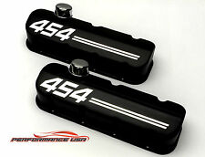 Big Block Chevy 454 Die Cast Aluminum Black Powder Coat Valve Covers