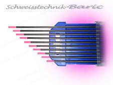 10 x Wolframelektrode Pink WX 4,0 x 175mm TIG WIG Argon Wolframnadeln