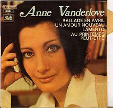 "ANNE VANDERLOVE ""BALLADE EN AVRIL"" 60'S EP"