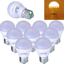 10X 9W Warm White Energy Saving E27 LED Bulbs SMD Globe Bulb Light 110V