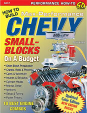 How to Build Max Performance Chevy Small Blocks on a Budget Book ~ NEW!