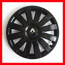 "16"" Renault Trafic Laguna WHEEL TRIMS COVERS  HUB CAPS  SET OF 4 x16''  black"