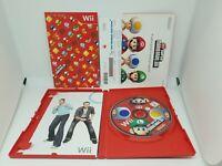 New Super Mario Bros. Wii (Nintendo Wii, 2009) complete all manuals + club code
