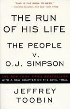 The Run of His Life-The People v. O.J. Simpson by Jeffrey Toobin (1997 PB)EE1803