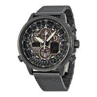NEW Citizen Navihawk AT Atomic Eco Drive Men's Perpetual Watch - JY8037-50E