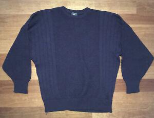 Ermenegildo Zegna Vintage 90's Men's Yachting Knit Wool Jumper Sweater Size 50