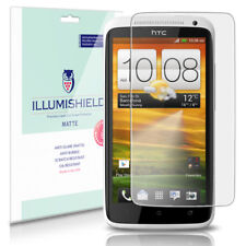 iLLumiShield Matte Screen Protector w Anti-Glare/Print 3x for HTC One X