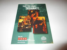 RUSH drinking and driving RADD handbill poster 1996 rare 9x13 R.A.D.D.