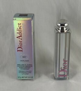 Dior Addict STELLAR SHINE Vibrant Color Lip Shine ~ 987 DIORLUNAR ~ .11 Oz NIB