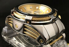 Neue Invicta Reserve Bolt Zeus High Polished Finish Gold Tone & Mop Akzenten 12746