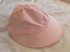 Wide Brim Sun Visor with Cap--Ultimate UV Sun Protection for Hair & Scalp--Pink