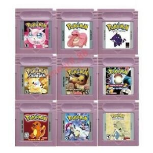 POKEMON Collection of Hacks Unique Special Titles Game Boy Color GBC